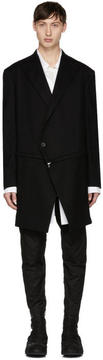 Julius Black Detachable Zip Coat