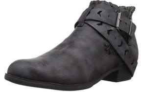 Sugar Women's Tiggles Open Side Festival Buckle Boho Bootie Ankle Boot.