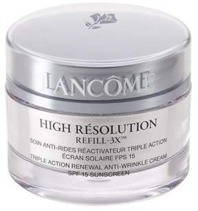 Lancome High Resolution Refill-3X Triple Action Renewal Anti-Wrinkle Cream/2.6 oz.