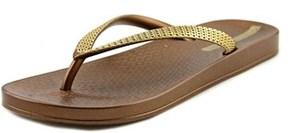 Ipanema Ana Metal Women Open Toe Synthetic Flip Flop Sandal.