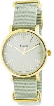 Timex Originals TW2P88500 Gold Cloth Quartz Fashion Watch