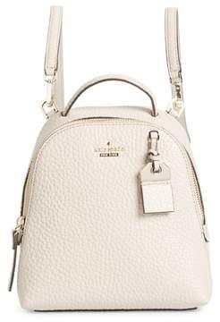 Kate Spade Carter Street - Mini Caden Leather Backpack