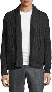 James Perse Men's Wool Stitch Cardigan