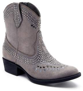 Matisse Amour Faux Suede Western Ankle Boot