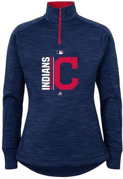 Majestic Girls 7-16 Cleveland Indians Team Icon Pullover