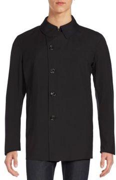 Allegri Asymmetrical Button-Front Coat