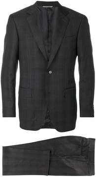 Canali checkered suit