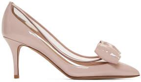 Valentino Pink Garavani Glassglow Heels