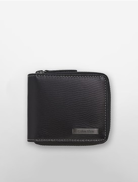 Calvin Klein Textured Zip Wallet