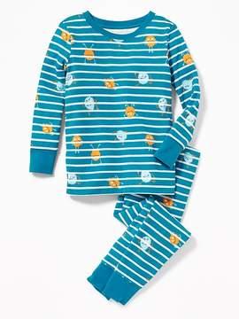 Old Navy Monster-Print Sleep Set for Toddler & Baby