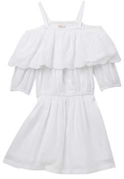 Ella Moss Off-the-Shoulder Peasant Dress (Big Girls)