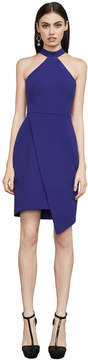 BCBGMAXAZRIA Makenna Asymmetrical Halter Dress