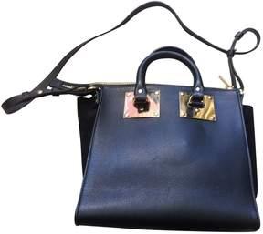 Sophie Hulme Black Leather Handbag