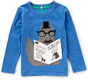 Joules Little Boys 1-6 Long-Sleeve Wolf Shirt