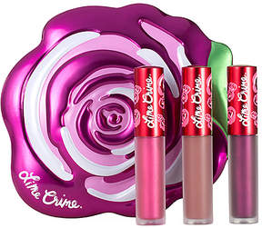 Lime Crime Velve-tins Giftable Set.