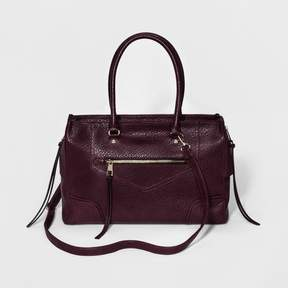 A+ Women's Zipper Satchels