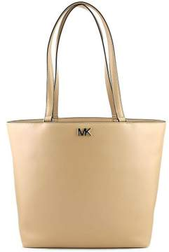 Michael Kors Mott Medium Leather Tote - Oyster - OYSTER - STYLE