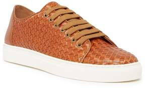 Donald J Pliner Woven Leather Sneaker