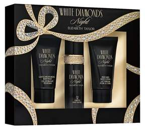 Elizabeth Taylor White Diamonds Night by Women's Fragrance Gift Set - 3pc