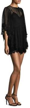 Alice McCall Lucky Charm Sheer Lace Mini Dress