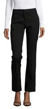 Saks Fifth Avenue BLACK Powerstretch Solid Cotton-Blend Pants