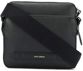 Dolce & Gabbana embossed logo messenger bag