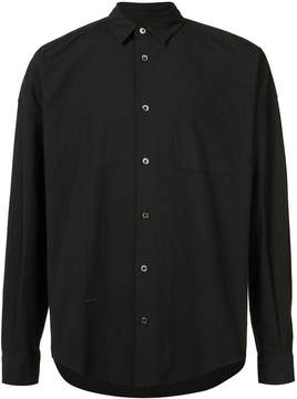 Robert Geller plain shirt