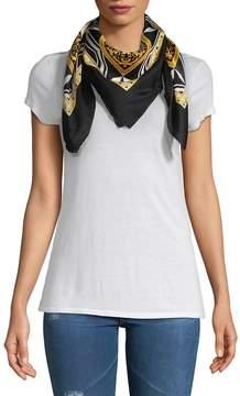 Versace Women's Printed Silk Scarf