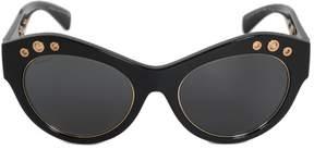 Versace Cat Eye Sunglasses VE4320 GB18G 54   Black Frames   Grey Lenses