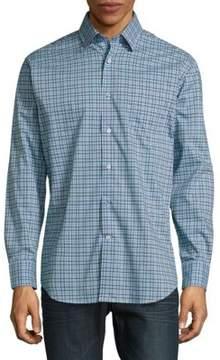 Robert Talbott Anders Casual Button-Down Cotton Sportshirt