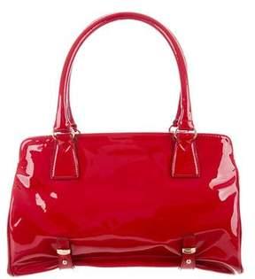 Max Mara Patent Leather Shoulder Bag