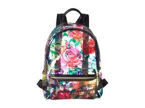 Betsey Johnson Clear Floral Backpack Backpack Bags