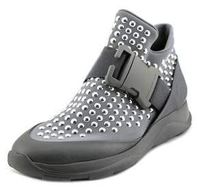 Christopher Kane High Top Sneaker + Dots Round Toe Synthetic Sneakers.