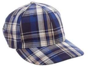 Rag & Bone Plaid Patterned Cap w/ Tags
