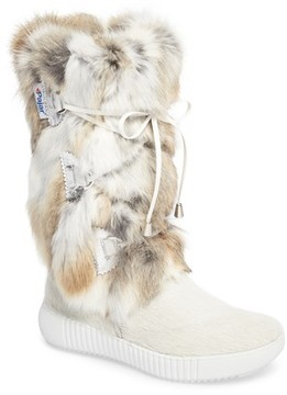 Pajar Women's Juliana Genuine Rabbit Fur Boot