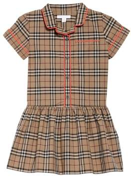 Burberry Melanie Drop Waist Dress