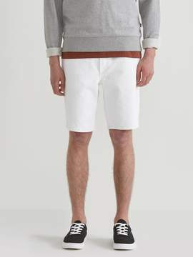 Frank and Oak Cotton Denim Short in Snow White