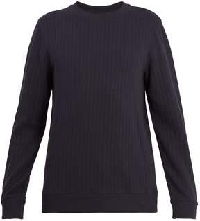 A.P.C. Joseph ribbed cotton sweatshirt
