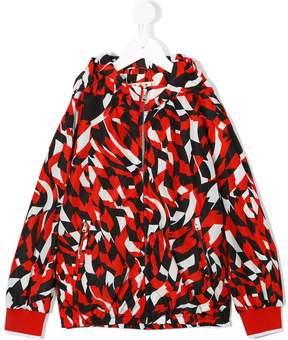 Marni geometric lightweight jacket