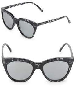 Quay Graphic 60MM Cat Eye Sunglasses