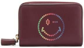 Anya Hindmarch Rainbow Wink compact wallet