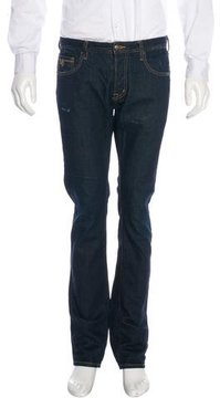 Just Cavalli Distressed Slim Jeans