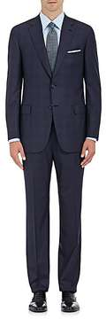 Brioni Men's Brunico Plaid Wool Two-Button Suit