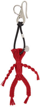 Alexander McQueen Red Corn Dolly Bag Keychain