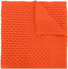 Calvin Klein textured knit scarf