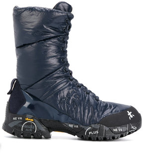 Premiata ridged sole boots
