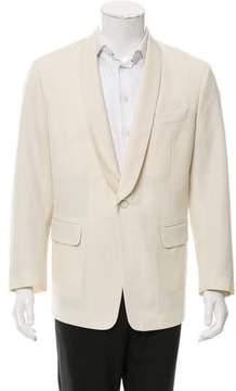 Dries Van Noten Wool Tuxedo Jacket