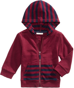 First Impressions Striped Thermal Hoodie, Baby Boys (0-24 months), Created for Macy's