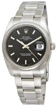Rolex Date Stainless Steel 34mm Watch
