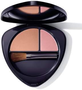 Dr. Hauschka Skin Care Blush Duo - 03 Sun Kissed Nectarine by 0.2oz Blush)